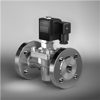 GSR solenoid valve Flanged Valves