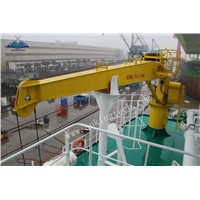 Hydraulic Fixed Boom Crane for marine ship