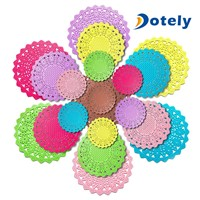 Silicone Pot Holder Trivet Mat Cup Coasters Insulation Mat