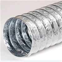 Ideal solution durable 4 inchx10m non-insulated flexible aluminum foil duct