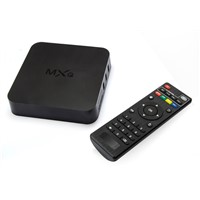 Quad core Android 4.4 KiKat TV BOX MXQ Amlogic S805 Smart 4K Steaming KODI Android TV BOX