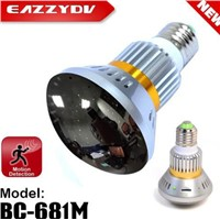 EazzyDV DIY Home Security Bulb camera with Mirror Cover