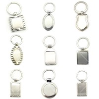 High Quality Customized Metal Blank Key Chains