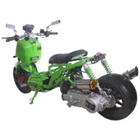 150cc PMZ150-20 Maddog Air Cooled Single Cylinder 4-Stroke Trike Scooter Moped
