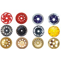 Diamond cup grinding wheels double row cup wheel