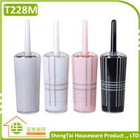 Hot Sale Popular Toilet Pink Black White Gray Color Plastic Bath Brush With UK Grid