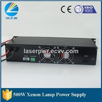 high power 500W Short Arc Xenon Lamp Power Source for Sale
