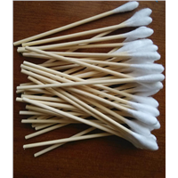 Wooden Cotton Swab Factory in China