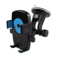 Mobile Phone Car Mount, Holder, Secure Phone/GPS to Windshield, Adjustable Grips, Fits Iphone 6