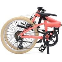Electric Folding Bike 850 Watt Electric Bicycle Folding Single Speed With Brakes