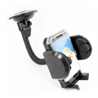 Car Windshield  Dashboard Universal Phone Mount Holder, Car Mobile Phone cradle for iPhone / Android