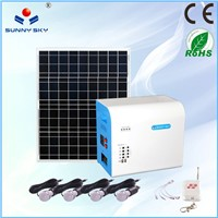 500w home solar systems portable solar lighting system