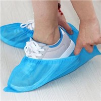 Medical Consumable Pp Cope Disposable Waterproof Indoor Nonwoven Overshoes Dust-Proof Shoes Covers