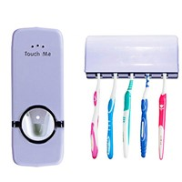 Bathroom accessory Toothpaste Dispenser & Toothbrush Holders