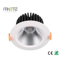 High quality round recessed  LED COB downlight AK-3501-7W CE/ROHS/SASO certificate