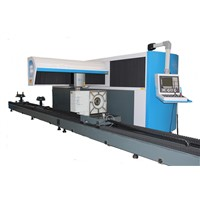 cnc pipe/tube fiber laser cutting machine with factory price
