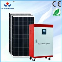 1500w mobile solar power system home solar panel system price for solar generator