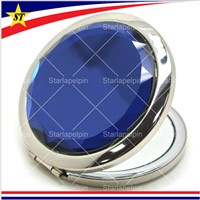 Stainless Steel Custom Blank Cosmetic Compact Mirrors