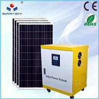 off-grid 5kw home solar system solar generator 5000 watt whole house solar power system