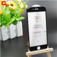 Mobile phone accessories for iphone 3D 0.26mm tempered glass screen protector for iphone6/6plus
