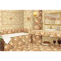 Rustic glazed tile bathroom wall tile