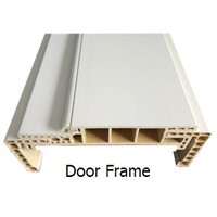 Water proof wpc door frame