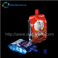 liquid bags with spout beverage soft package bag