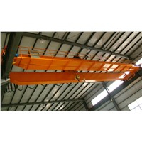 Factory Electric Travelling Double Girder Bridge Hanging Overhead Crane