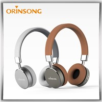High Quality Metal Bluetooth Headphones Wholesale Factory Price Wireless Headphone