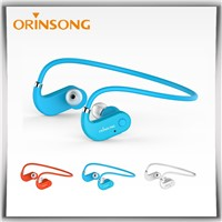 Orinsong Bluetooth Earphones with memory steel/ sports headsets