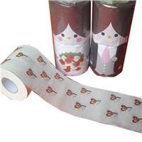 image printed toilet paper