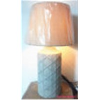 modern cement table lamp