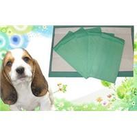 Nonwoven urine absorbent pet pad, magic pet dog pee pad, disposable puppy pet training pads