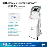 OPT SHR IPL +RF E-light machine for hair removal and skin tighting