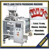 Multi lines ketchup,honey,butter,shampoo filling and packing machine