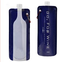 750ml Move Travel Foldable Wine Bottle to Go Flask