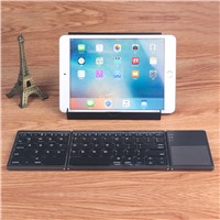 Touchpad Folding Keyboard PentaGraph Keys with Kickstand