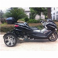 EEC-certified Motorcycle Trike, 300cc with CDI Ignition Type and 12L Fuel Capacity