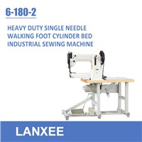 Lanxee 6-180-2 heavy duty cylinder bed industrial sewing machine
