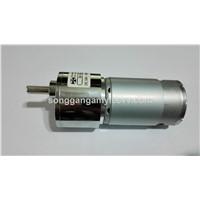 Permanent Magnet Gear Motor, 24v small gearbox motor, 24V 150rpm DC Gear motor SGB42RH