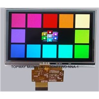 4.3 Inch 480X272 TFT LCD Touch Screen