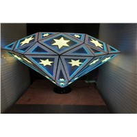 DGX Diamond shpe led DJ Booth with patent