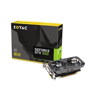 ZOTAC GeForce GTX 950 OC 2GB 128-Bit GDDR5 PCI Express 3.0