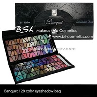 128 Colors Eyeshadow Pad Makeup Palette Handbag Style Beauty Products