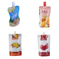 Juice Drink Spout Pouch, Custom Printing Stand-Up Pouch Bag,Beverage Packaging Bag