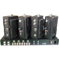 EFP Camera Fiber Optic Adapter 8 Chaannic Optic Adaptor & Optic Base Station