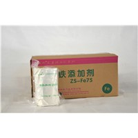 Fe75/80 iron element additives tablet
