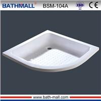 2016 fiberglass acyrlic shower basin for shower