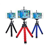 Mini Camera Phone Portable Flexible Sponge Octopus Tripod Stand Mount With Holder