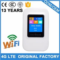 4g Wireless Wi-Fi Portable 4G Router with sim card slot